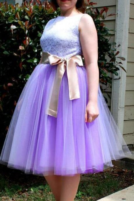 Beautiful Multi-layer Pure Color A-line Tulle Skirt
