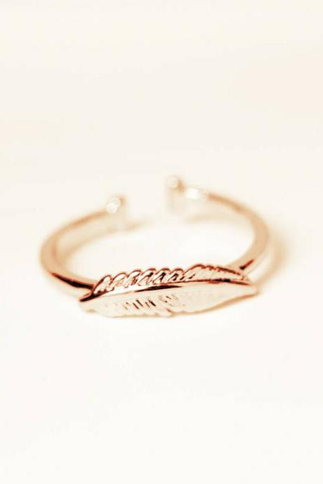 The new fashion contracted joker copper quality leaves the ring