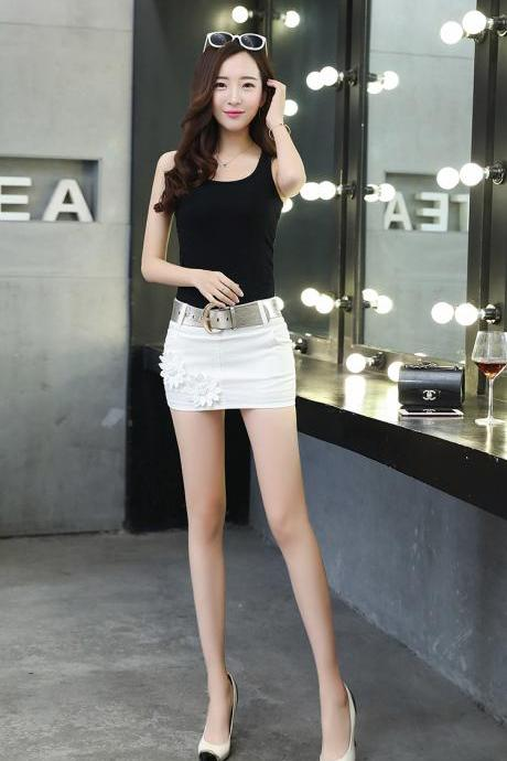 Fashion Sexy Cowboy Short Bodycon Mini Skirts