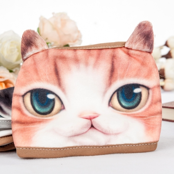 Korean Style New Fashion Casual Sport Outdoor 3D Pet Cat Cartoon Pattern Anti-Dust Cute Face Mask