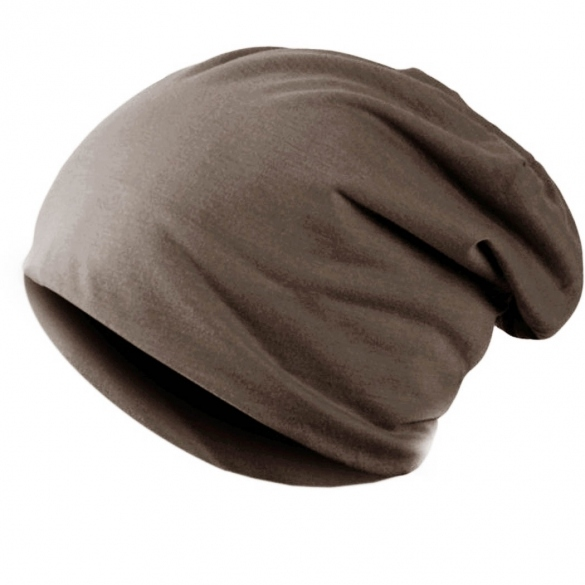 Casual Men/ Women Skull Cap Hip-Hop Solid Beanie Cap Hat