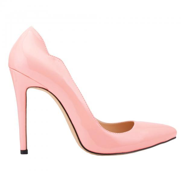 Sexy Candy Colors Pointed Stiletto Heel Heels Shoes
