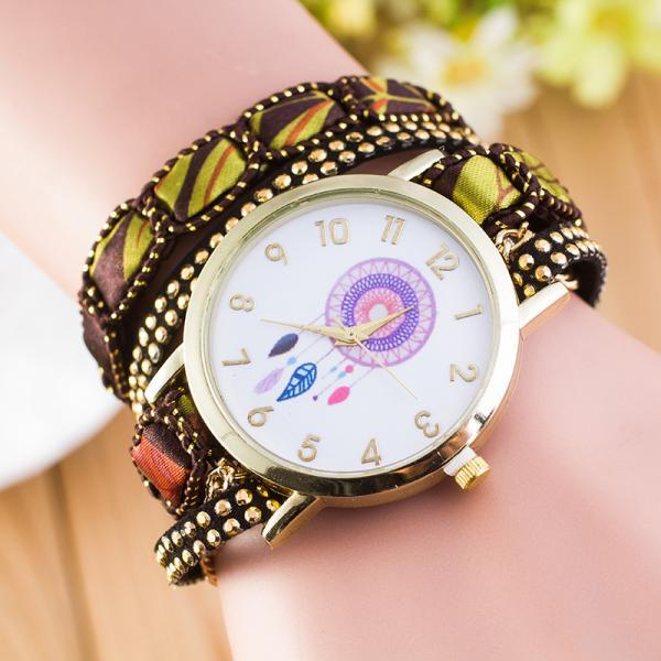 National Style Dreamcatcher Bracelet Watch