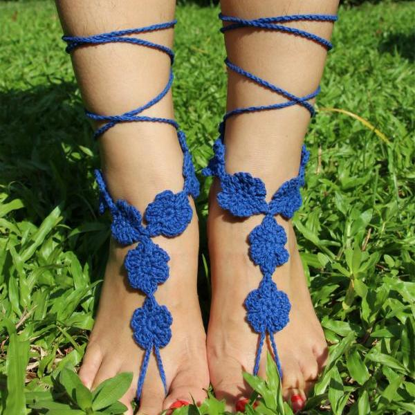 Folk style dance Fingerless hook Beach Yoga Anklet